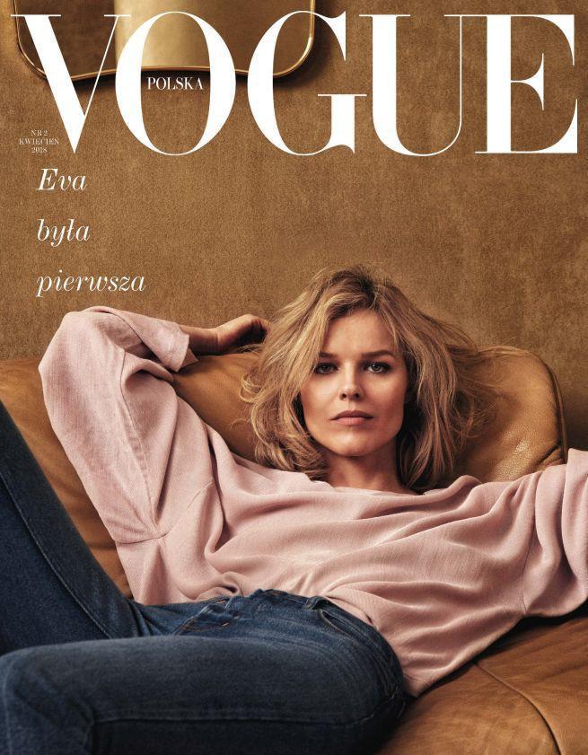"""Drugi numer """"Vogue Polska"""" z Evą Herzigovą na okładce. 160 tys. egz. nakładu"""
