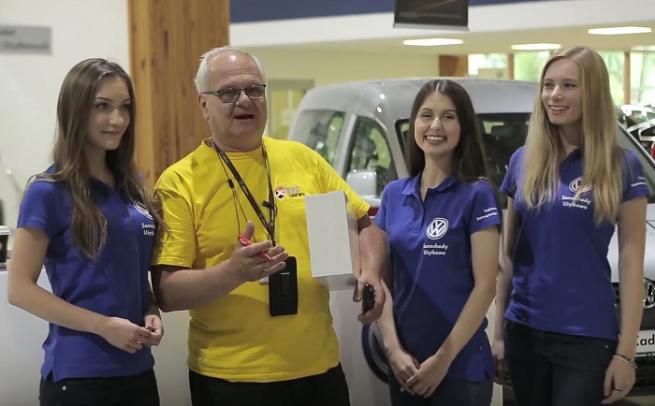 """""""Volkswagen zmienia zasady gry"""" w akcji dla kurierów (wideo)"""
