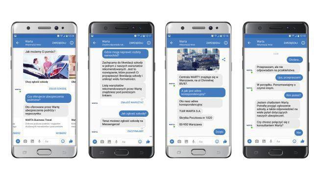 Warta uruchamia w aplikacji Messenger chatbot do sprawniejszej obsługi klientów