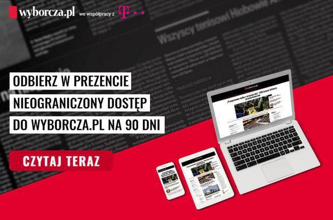 Dostęp do Wyborcza.pl przez 3 miesiące za darmo dla klientów T-Mobile Polska