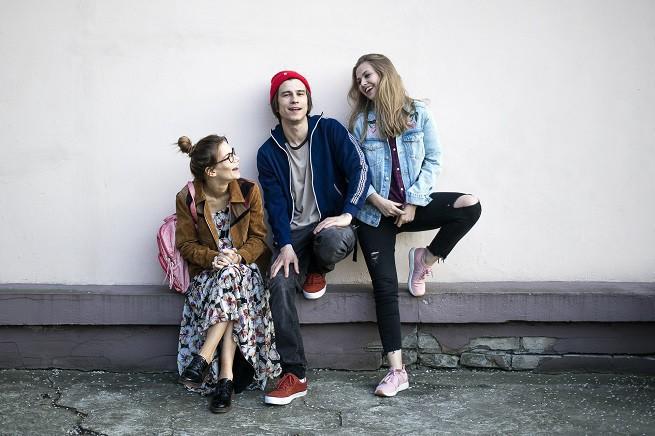 Od lewej: Maja Bohosiewicz, Piotr Nerlewski i Anna Karczmarczyk; fot. Karolina Grabowska - FormaProduction