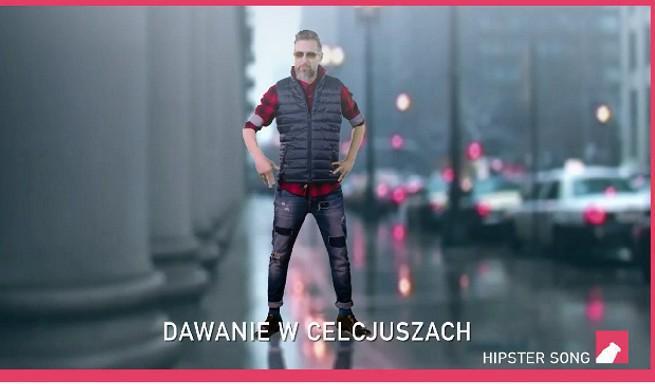 """""""Hipster song"""" w wykonaniu Szymona Majewskiego w nowej reklamie Actimela (wideo)"""