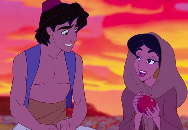 Disney przyciemnia kolor skóry białym statystom na planie filmu