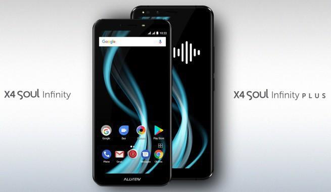 Allview: smartfony X4 Soul Infinity i X4 Soul Infinity Plus za 899-1549 zł