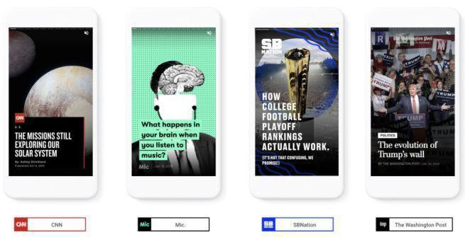 Google testuje AMP stories, platformę do publikacji treści dla wydawców