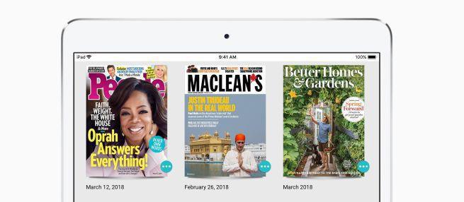 Apple przejmuje Texture, internetowy kiosk z e-gazetami