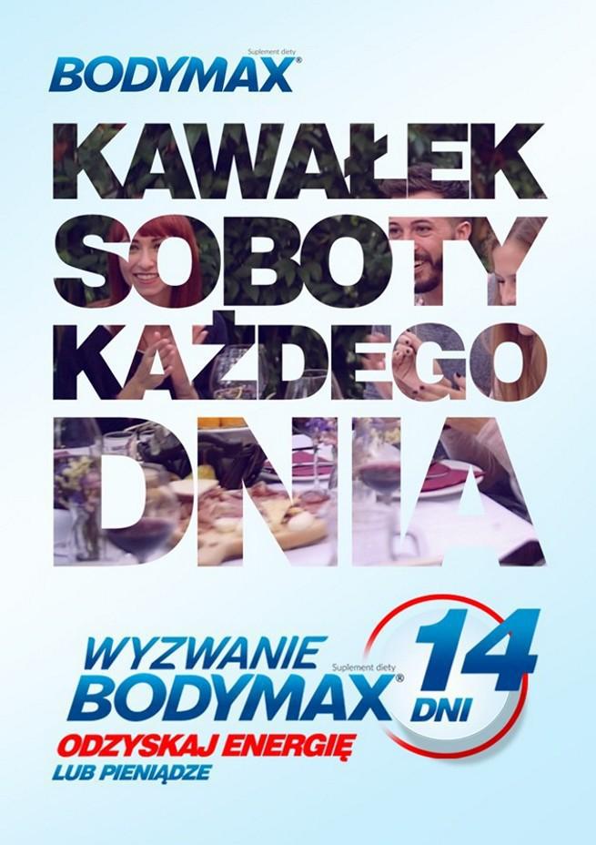 """""""Kawałek soboty każdego dnia"""" w reklamach suplementów diety Bodymax (wideo)"""