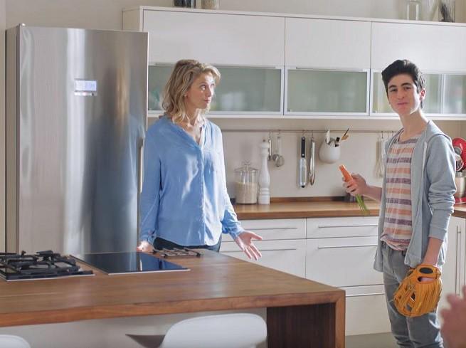 Bosch promuje chłodziarko-zamrażarki NoFrost z technologią VitaFresh plus (wideo)