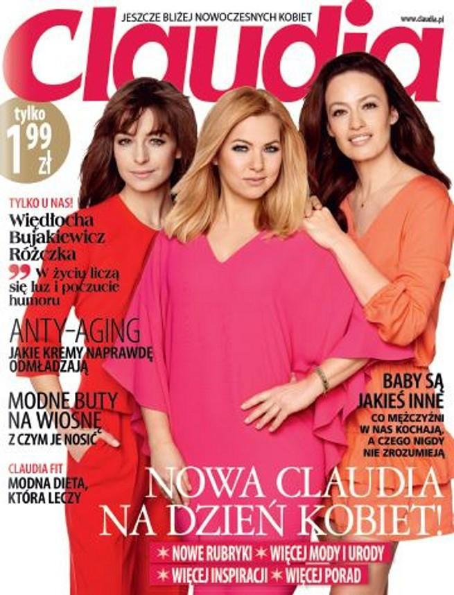 """Odnowiona """"Claudia"""" już w kioskach. """"Przewodnik po życiu nowoczesnej kobiety"""""""