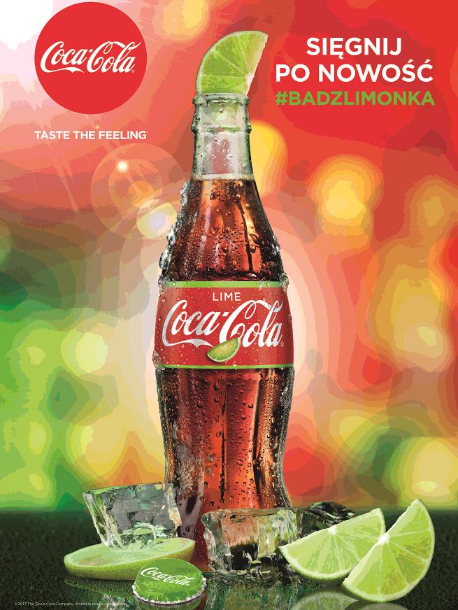 """""""Bądź Limonką!"""" w kampanii nowej wersji smakowej Coca-Coli (wideo)"""