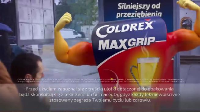 Coldrex reklamowany w telewizji po 10 latach przerwy (wideo)