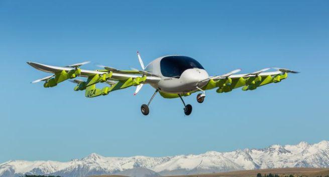Testy latającej taksówki w Nowej Zelandii, projekt finansuje Larry Page