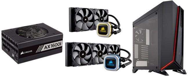 CES 2018: AX1600i, Carbide Spec Omega, H150i Pro i H115i Pro - nowe podzespoły komputerowe Corsair (wideo)