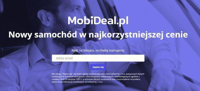 Serwis MobiDeal.pl pomoże wybrać nowy samochód u dealera