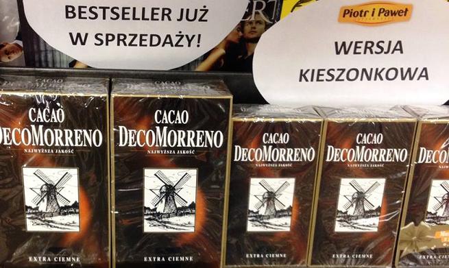 Jak kakao DecoMorreno stało się w internecie najpopularniejszą książką tygodnia