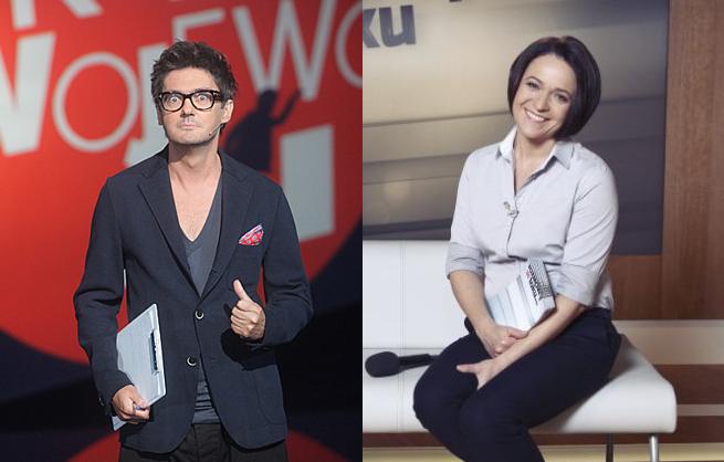 Kuba Wojewódzki i Ewa Drzyzga, fot. TVN