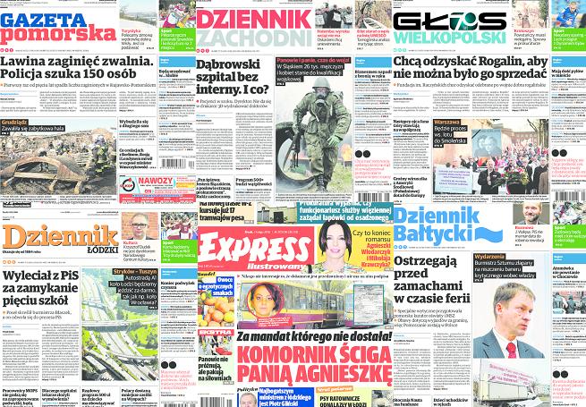 """""""Gazeta Pomorska"""" na czele sprzedaży w lipcu, """"Dziennik Bałtycki"""" stracił najwięcej"""