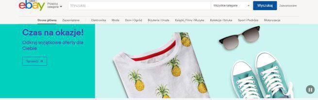 eBay wprowadza do polskiej wersji spersonalizowaną stronę główną