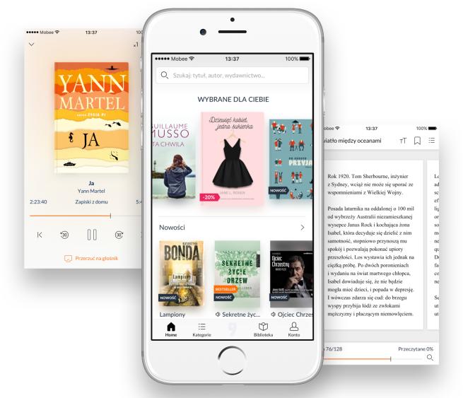 EmpikGo - nowa aplikacja z tysiącami e-booków i audiobooków (wideo)