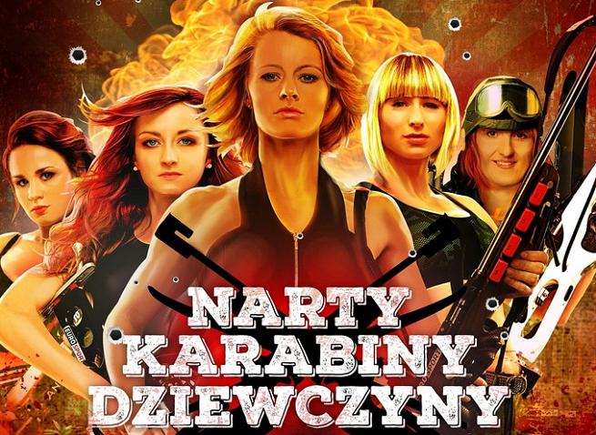 """""""Narty, karabiny, dziewczyny"""" - polskie biathlonistki grindhouse'owo reklamują Eurosport (wideo)"""