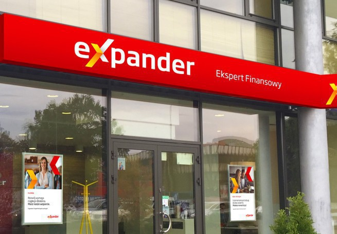 """Expander z nową identyfikacją wizualną: """"ekspert finansowy"""" zamiast """"niezależnego doradcy finansowego"""""""