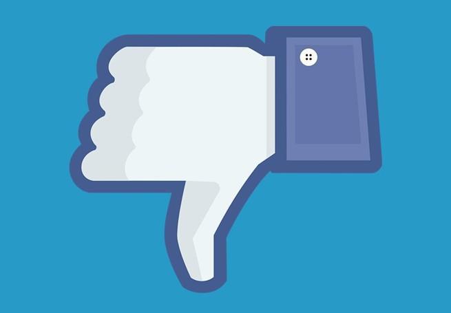 """Facebook testuje przycisk """"głos na nie"""" do negatywnej oceny komentarzy."""