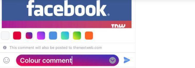 """Facebook testuje mobilnie kolorowe komentarze, internet nie zostawia na nim suchej nitki. """"Propozycja dla młodszej grupy odbiorców"""""""