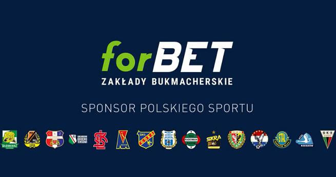 """forBET reklamuje, że jest """"sponsorem polskiego sportu"""" (wideo)"""