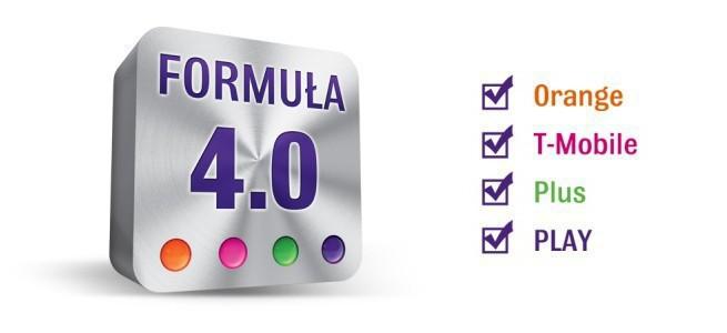 Formuła 4.0 w Play - nielimitowane połączenia do wszystkich sieci od 79 zł