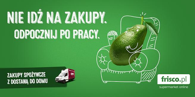 """""""Nie idź na zakupy"""" w kampanii reklamowej Frisco.pl"""