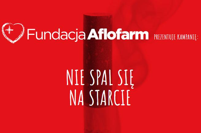 """""""Nie spal się na starcie"""" - Fundacja Aflofarm przestrzega nastolatki przed paleniem papierosów (wideo)"""