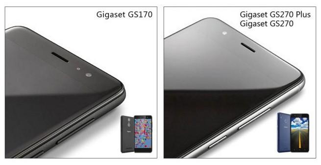 GS170, GS270 i GS270 Plus - nowe smartfony Gigaset w Polsce za 649 zł, 869 zł i 999 zł (wideo)