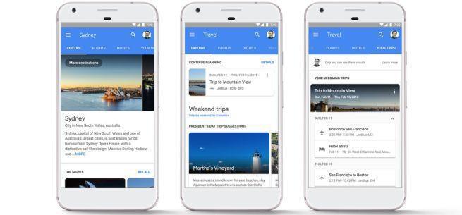 Google wprowadza rezerwację biletów lotniczych i hoteli w mobilnej wyszukiwarce
