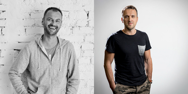 Od lewej: Filip Grześkowiak, Michał Adamczyk