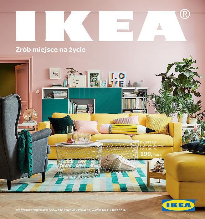 """Nowy katalog IKEA w 7 mln egz., wspiera to kampania pod hasłem """"Niech żyje Dom!"""" (wideo)"""