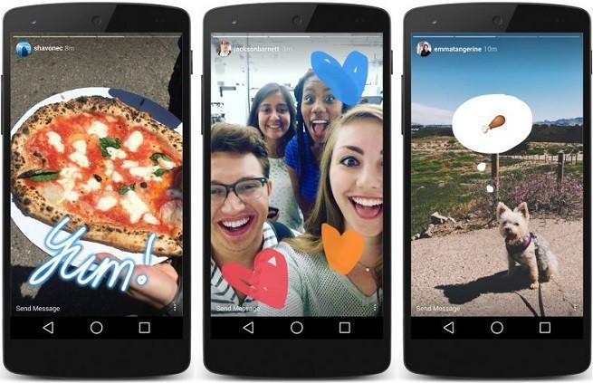 Do Instagram Stories można dokładać treści starsze niż 24 godziny