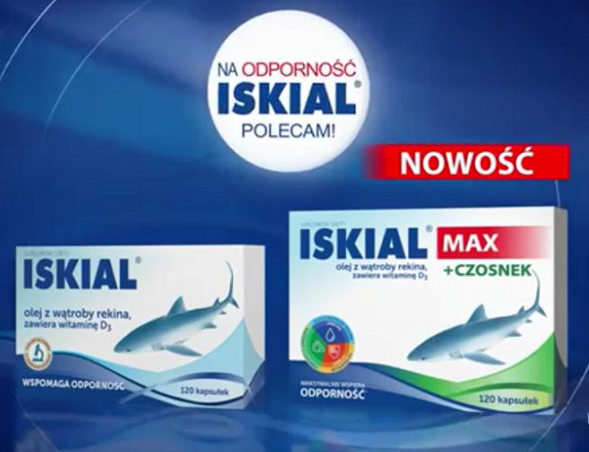 """""""Na odporność polecam!"""" w kampanii Iskialu (wideo)"""