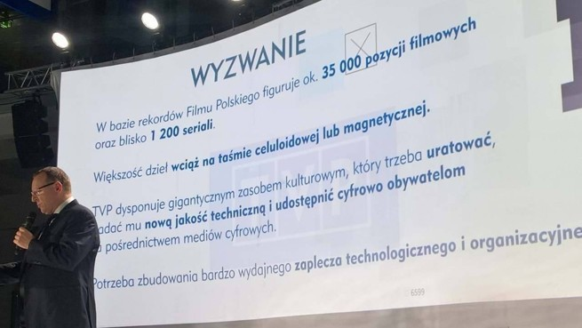 Digitalizacja zasobów TVP rok od startu: jakie efekty i tytuły?