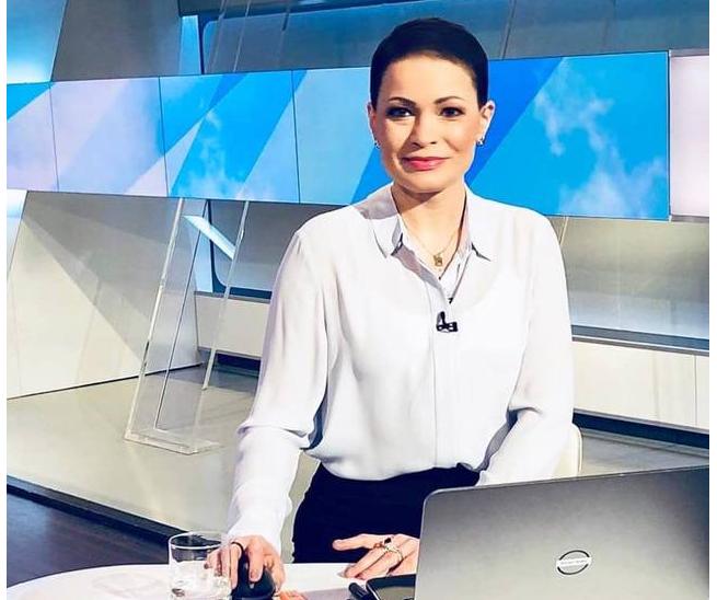 Joanna Górska po leczeniu onkologicznym wróciła na antenę Polsat News