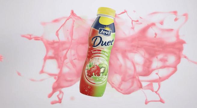 """Jogurty Jovi Duet promowane kampanią """"Mix taki na 2 smaki"""""""