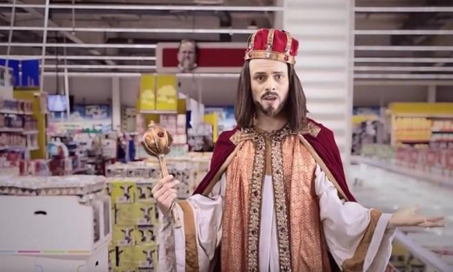 """""""Krytyka Polityczna"""" promuje się spotem z Jezusem w roli głównej (wideo)"""