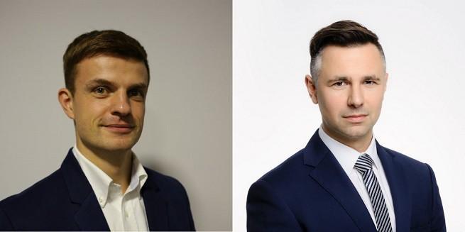 Jakub Kuźnik i Łukasz Smolnik