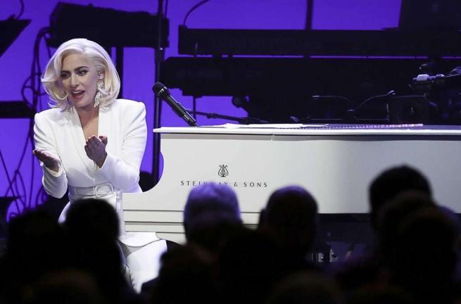 Lady Gaga zaśpiewała dla pięciu prezydentów USA