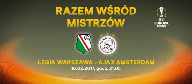 Mecz Legia Warszawa-Ajax Amsterdam w TVP1 i Canal+ Sport