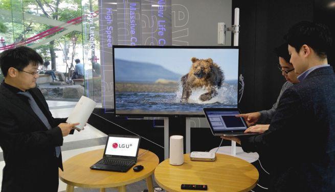 LG U+ i Huawei testują transmisję obrazu UHD w technologii 5G