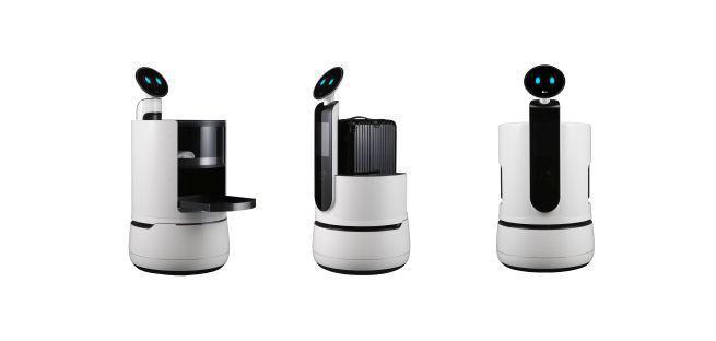 LG przedstawia nowe roboty komercyjne CLOi: kelnera, portiera i asystenta zakupów