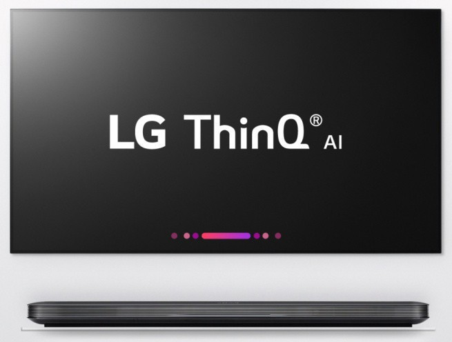 LG pokazuje telewizory ThinQ ze sztuczną inteligencją