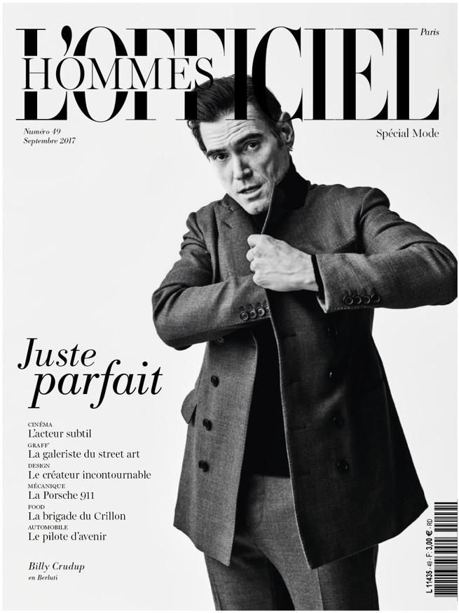 """Magazyn modowy dla mężczyzn """"L'Officiel Hommes"""" wchodzi na polski rynek"""