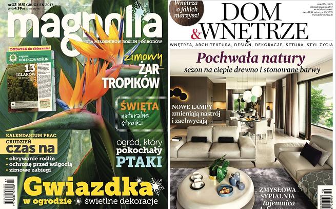 """Agora rezygnuje z pism """"Magnolia"""" i """"Dom & Wnętrze"""", serwisy wszystkich magazynów w pionie internetowym"""