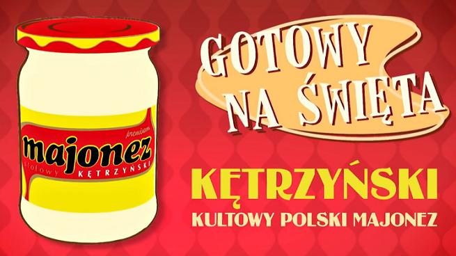 """Majonez Kętrzyński reklamowany przez kultową rodzinę jako """"gotowy na Święta"""" (wideo)"""
